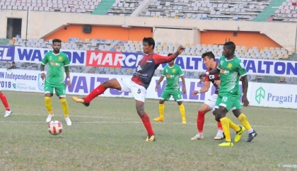 Bashundhara Kings storms into Ind-Cup semifinals