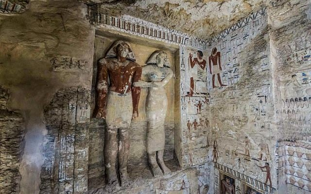 Exceptionally preserved 4,400-year-old tomb uncovered in Egypt