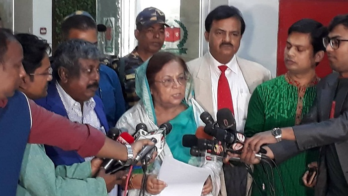 BNP complains to Election Commission over 'police obstruction' to campaign