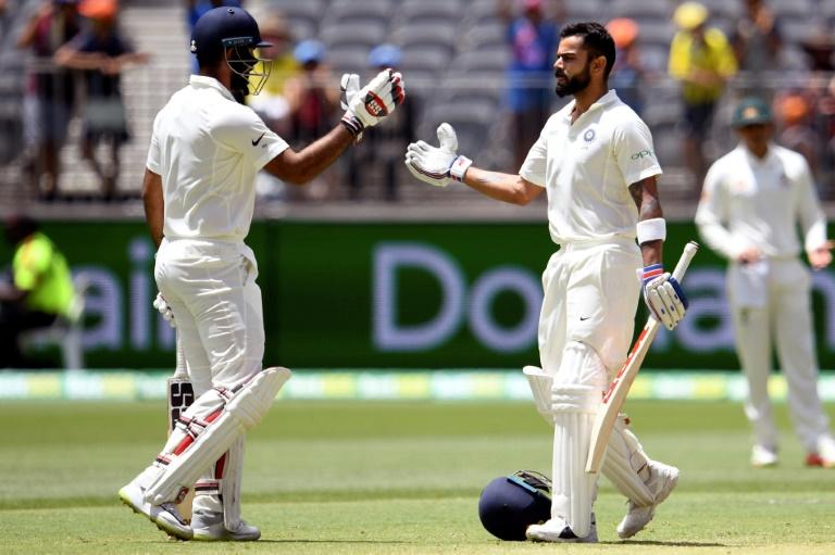 Kohli joins Tendulkar with six centuries in Australia