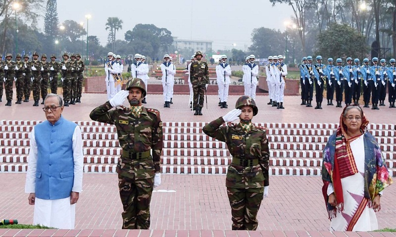 President, PM pay tributes to martyrs of Liberation War