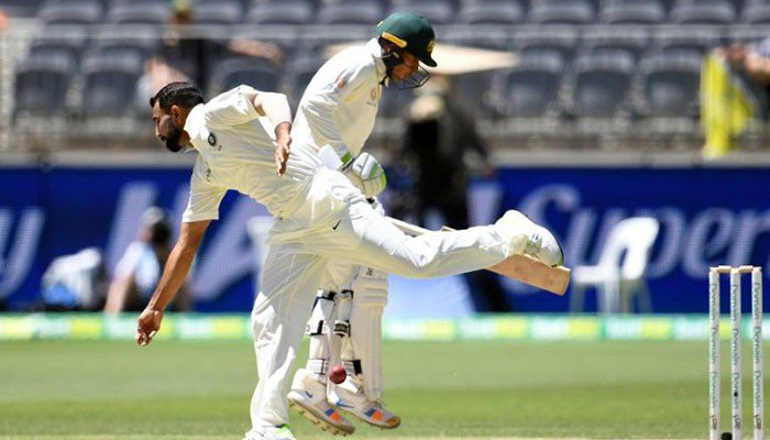 Australia all out for 243, India need 287 to win