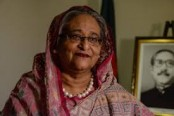 Hasina to roll out Awami League election manifesto Tuesday