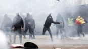 Brussels protest over UN migration pact turns violent