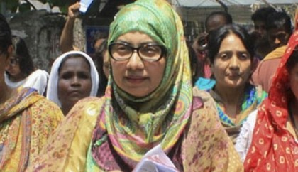 Campaign convoy of BNP's Afroza Abbas comes under attack again