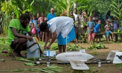 Vanuatu uses drones to deliver vaccines to remote island