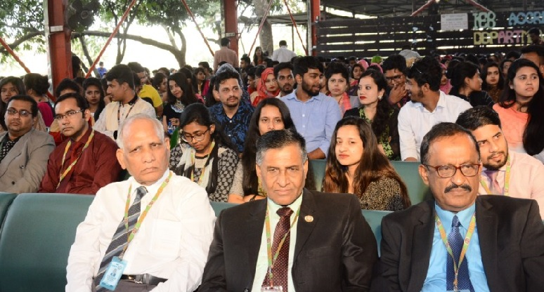 Get Together event of College of Business Administration at IUBAT held