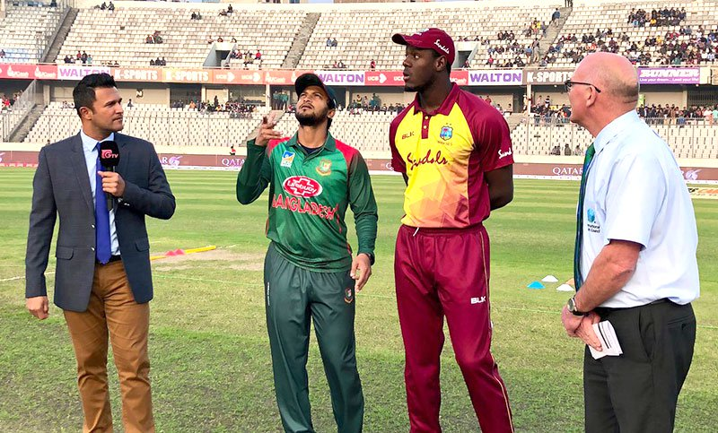 Bangladesh to bat first in second T20I