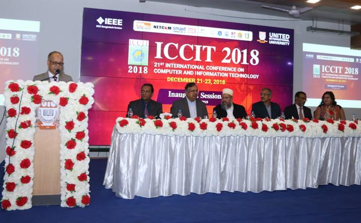 Inauguration of 21st ICCIT held at UIU