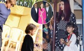 Aishwarya, Shah Rukh spotted at Aaradhya, AbRam's annual day function