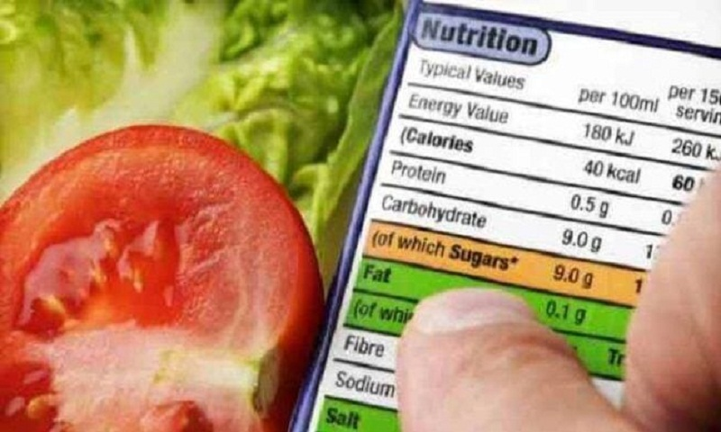 Food labels promote healthier choices