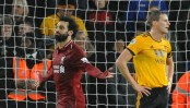Liverpool top of EPL for Christmas after beating Wolves 2-0