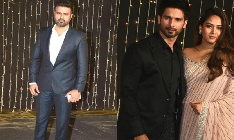 Priyanka Chopra's exes Harman Baweja and Shahid Kapoor attend her wedding reception
