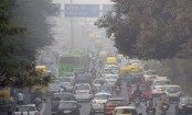 Delhi records year's second highest pollution level