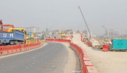 Construction work on Kanchpur bridge | 2018-12-23