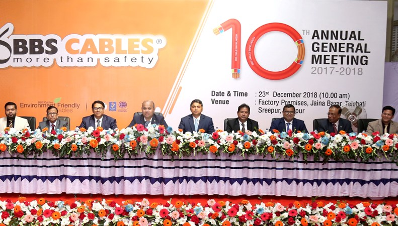 10th Annual General Meeting of BBS Cables held