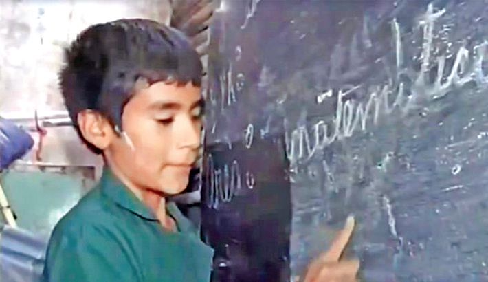 12-year-old boy founded own school
