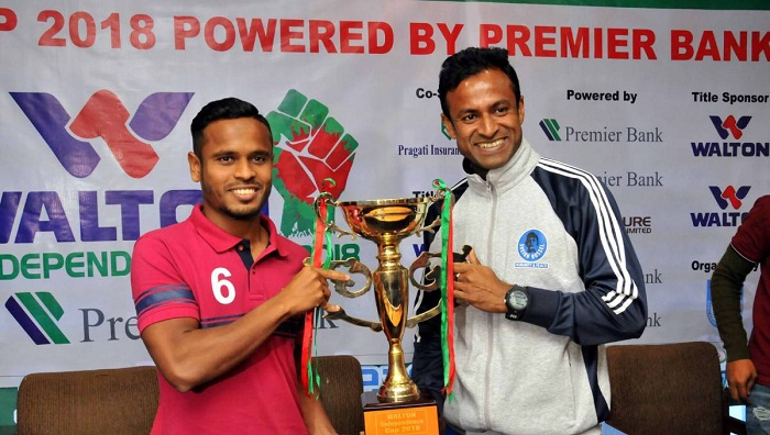 Sheikh Russel-Bashundhara Kings final battle of Ind-cup on Wednesday