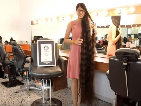 India's 'real life Rapunzel' sets world record with 5-foot, 7-inch hair
