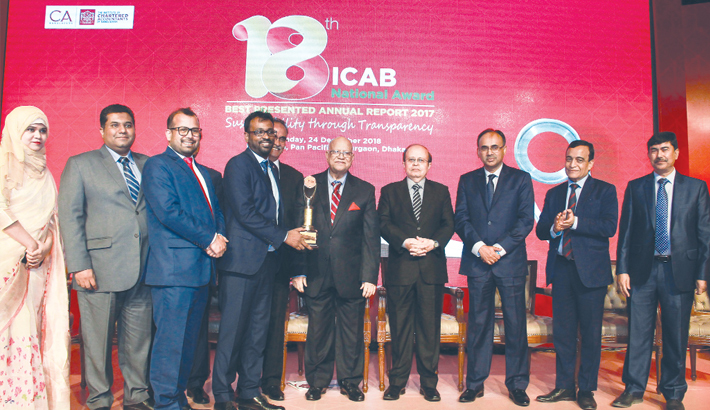 IPDC Finance  receives ICAB  Nat'l Awards
