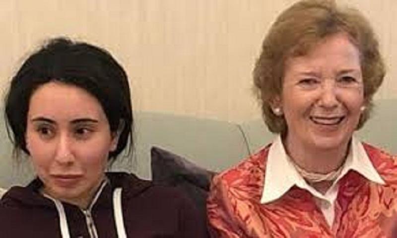 Sheikha Latifa: Mary Robinson 'backed Dubai version of events'