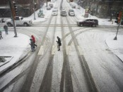 Winter storm snarls holiday travel in parts of US