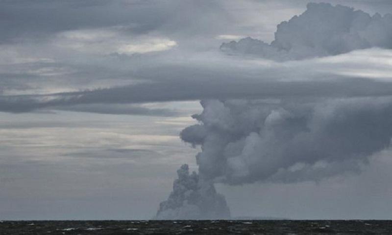 Anak Krakatau: Indonesian volcano's lost stature