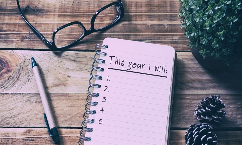How to keep up with your New Year resolutions