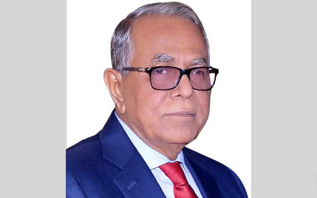 President greets people on New Year 2019