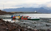 Iran sees 'revival' of imperilled Lake Urmia