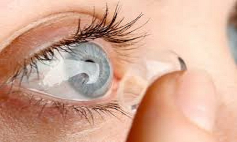 Sleeping in contact lenses can cause dangerous eye infections