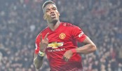 Pogba scores twice as Man Utd dismantle Bournemouth