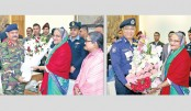 Various orgs congratulate  Hasina