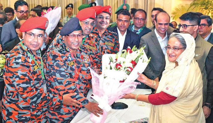 Fire service DG congratulates PM