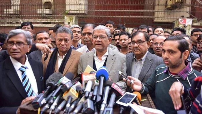 BNP MPs won't take oath: Fakhrul