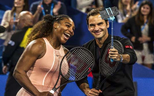 Serena in inspirational message to working mums