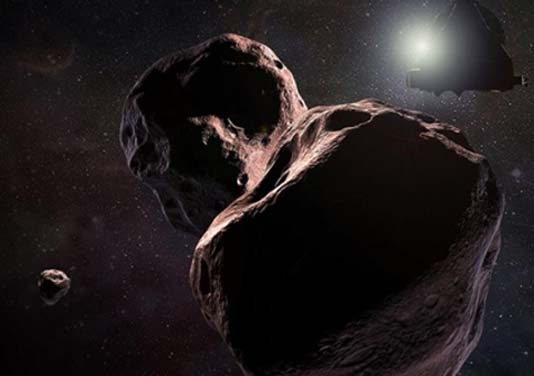 NASA says faraway world Ultima Thule shaped like 'snowman'