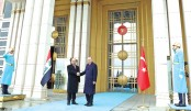 Official ceremony at the Presidential Complex