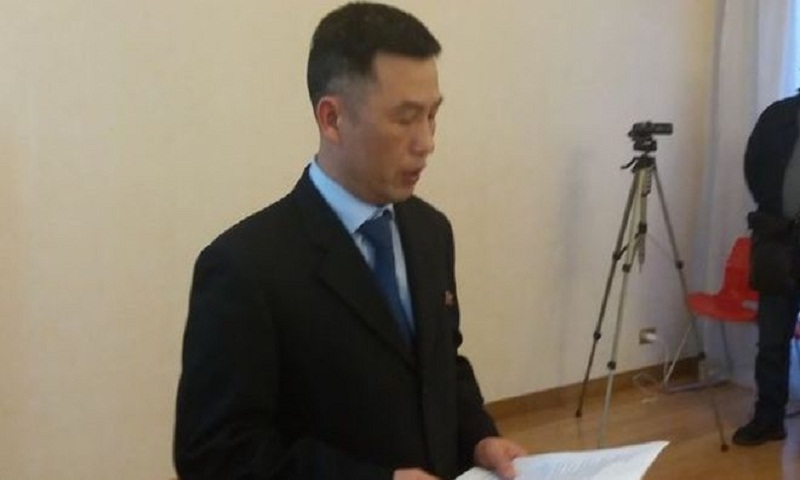 North Korea ambassador to Italy 'disappears', says South