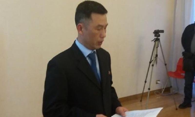 North Korea ambassador to Italy 'disappears', says South