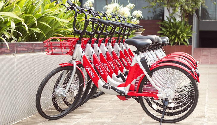 Bicycle sharing service JoBike launched in Dhaka