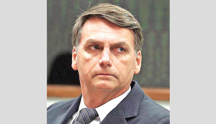 Brazil to move embassy to Jerusalem: Bolsonaro
