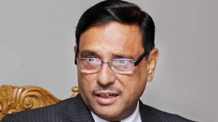 Quader slams BNP for complaining to foreigners