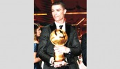 Ronaldo wins Globe Soccer player of the year