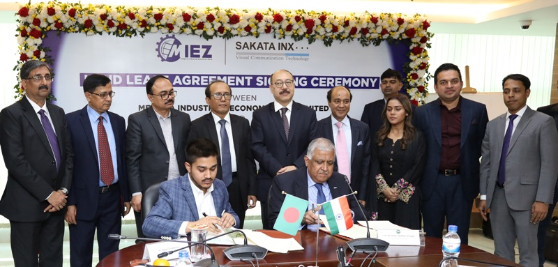 MIEZ signs land lease deal with Sakata Inx