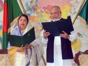 AKM Rahmatullah takes oath as MP