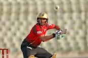 Shahid Afridi stars with bat, Comilla beat Sylhet by 4 wickets