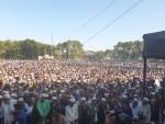 3rd janaza of  Syed Ashraf held at Anjuman Eidgah in Mymensingh