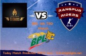Khulna Titans opt to bowl first against Rangpur Riders