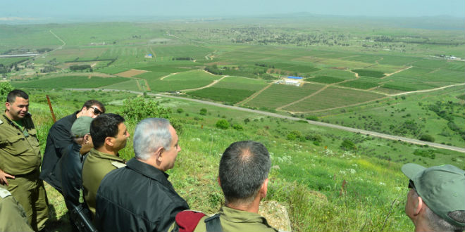Israel's Netanyahu discusses Golan Heights sovereignty with U.S. adviser